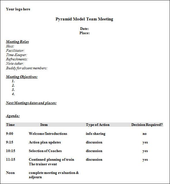 Itinerary Templates U2026