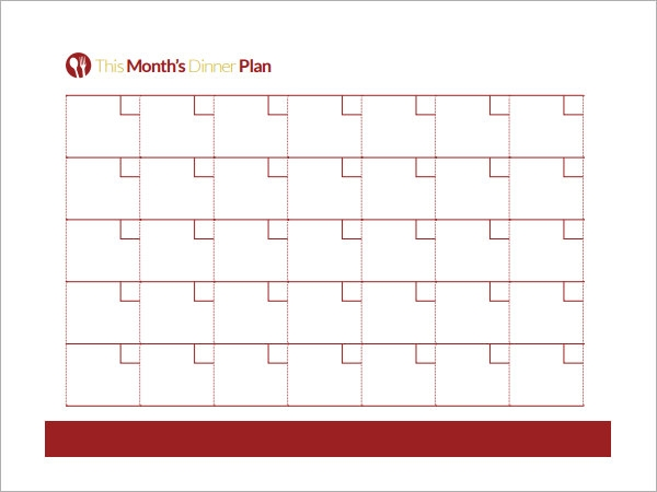 ... Meal Planning Template - 15+Download Free Documents in PDF, Excel