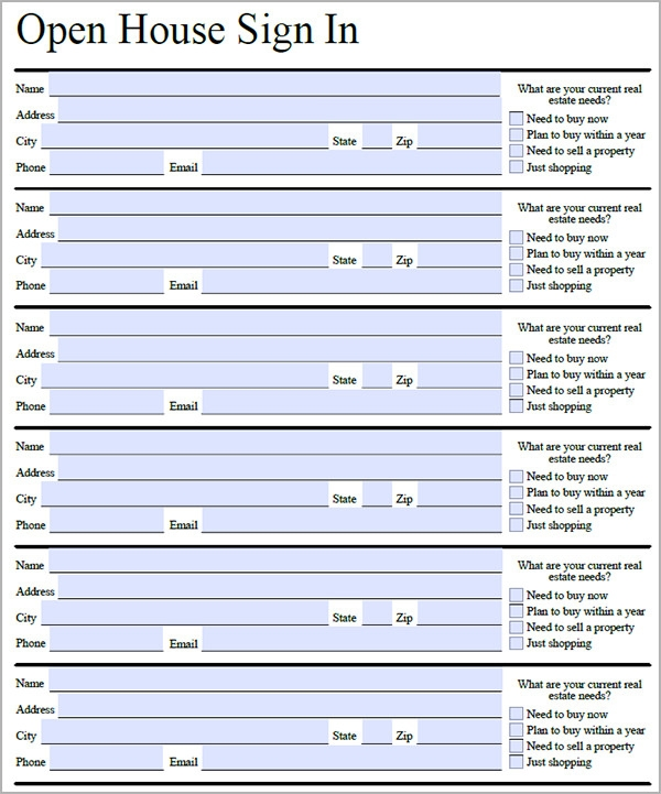 Sign In Sheet Template - 21+ Download Free Documents In Pdf, Word