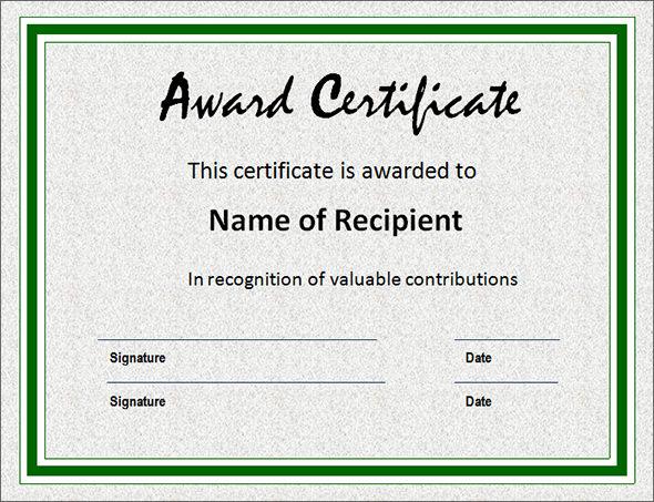 printable blank certificates templates .