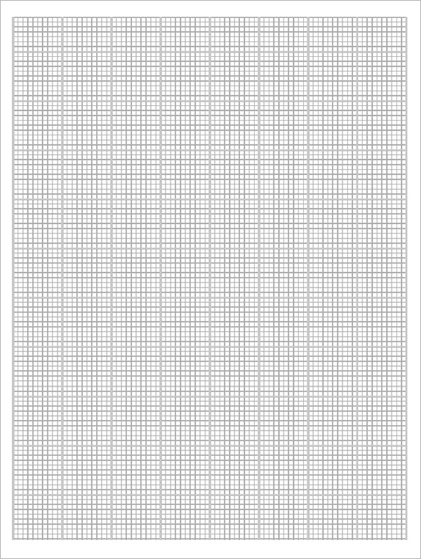 sample blank graph paper