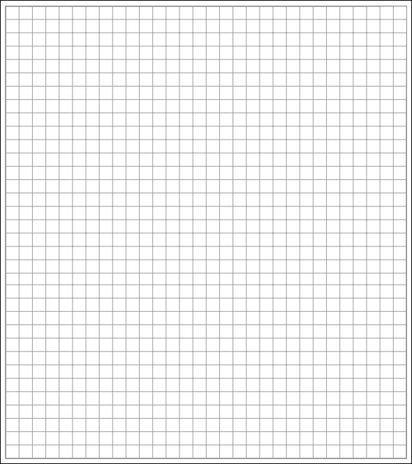 Sample Printable Graph Papers to Download