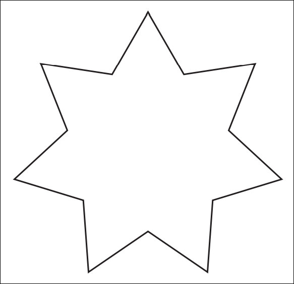 graphic relating to Printable Star Template called Absolutely free 17+ Suitable Printable Star Templates within just PDF PSD Vector