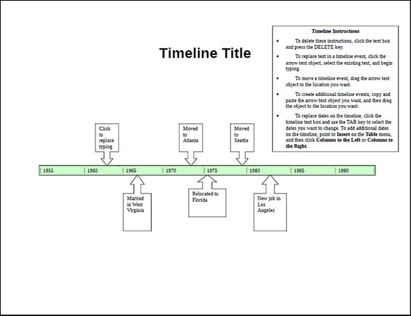 Sample Timeline Templates   Free Documents In Pdf  Word Ppt Psd