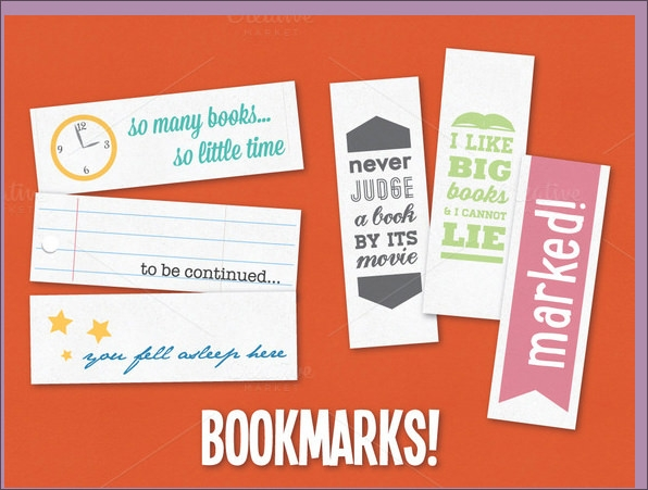 sample bookmarks - Free Printable Bookmarks Templates