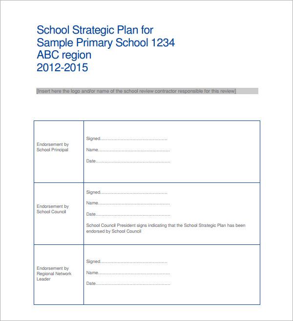Links Between Strategic & Operational Plans