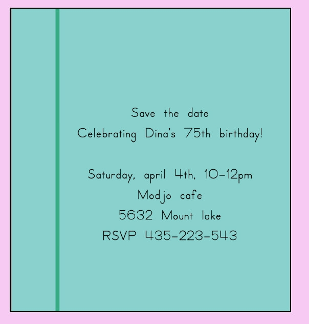 50  printable birthday invitation templates