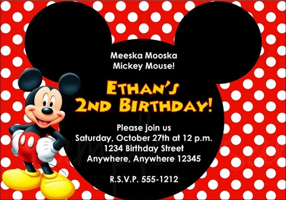 Free Birthday Invitations Templates | wblqual.com