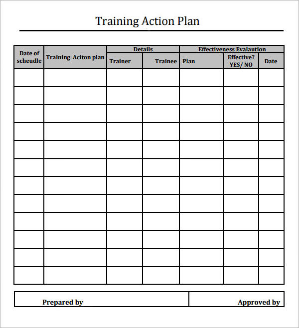 Sample Action Plan Template - 9+ Free Documents In Pdf, Word, Excel