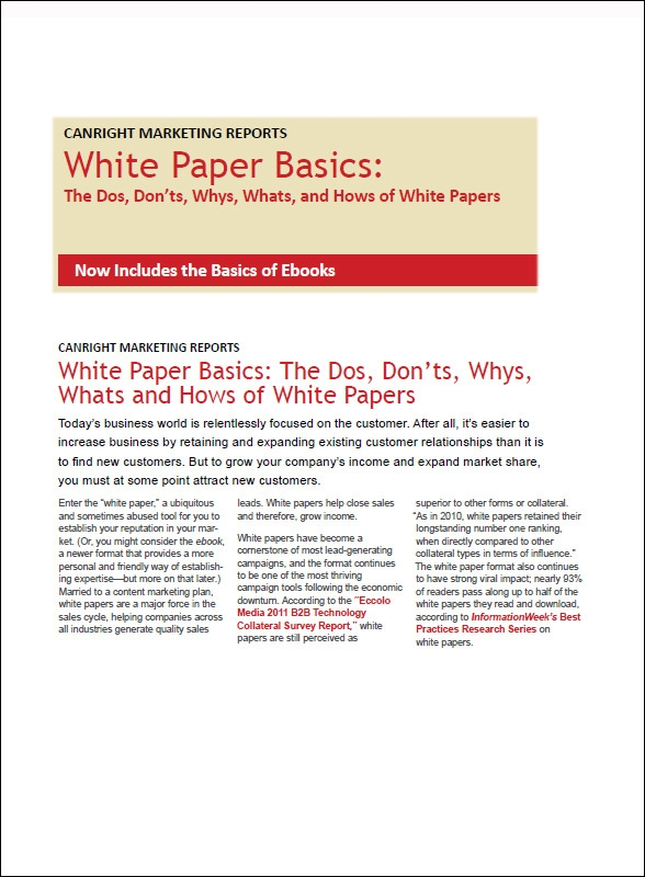 white paper format templates