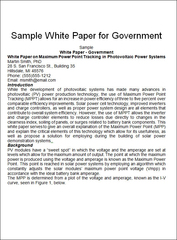 White paper microsoft word templates white paper format templates success maxwellsz