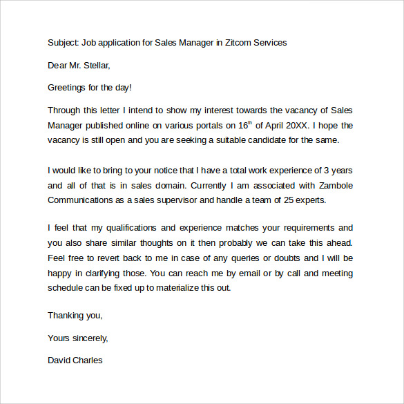 Formal Business Letter Format 29 Download Free Documents in – Example Business Letter