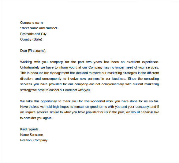 Formal Business Letter Format   19  Download Free Documents in Word wr92eSzT