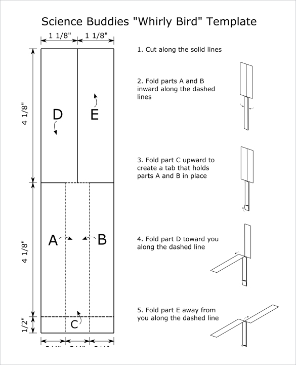 whirlybird template