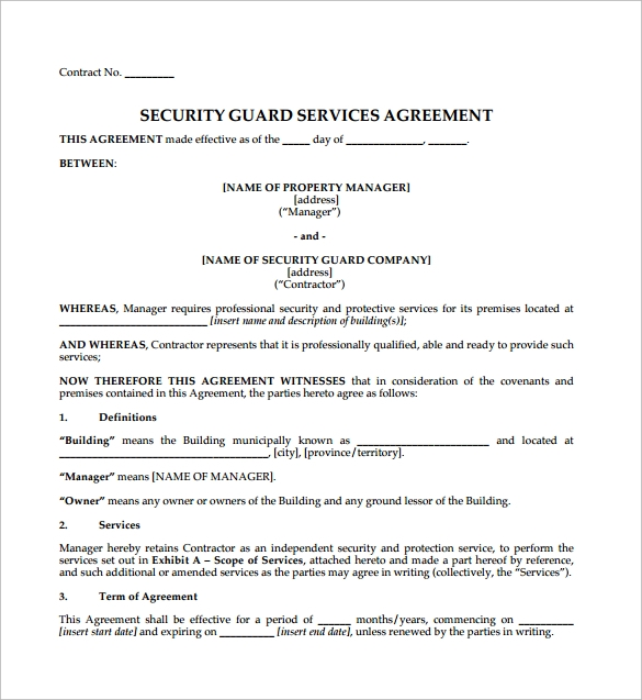Simple Construction Contract Agreement Templates - Building contractor agreement template