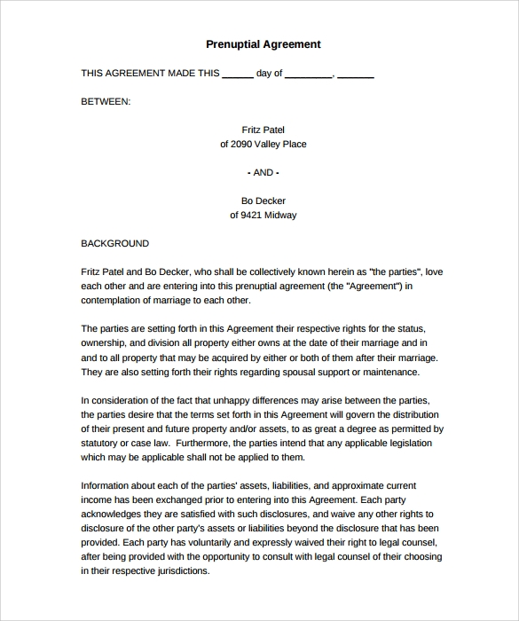 Printable Agreement Rental Agreement  Rental Agreement Form