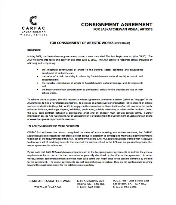 Doc728942 Consignment Agreement Definition consignment – Consignment Legal Definition