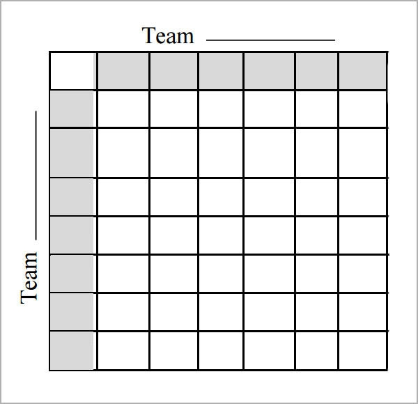 Foot Ball Square Template - 7+ Free PDF , DOC Download | Sample ...