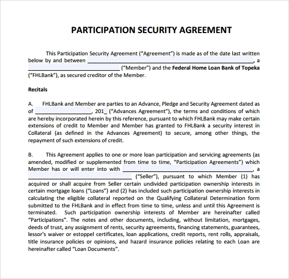Security Contract Template  BesikEightyCo