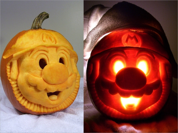 wonderful curved pumpkin template