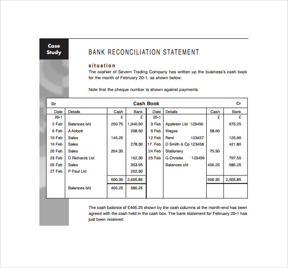 Sample Bank Statement Template  13  Free Documents Download In PDF 7cXIMHRi