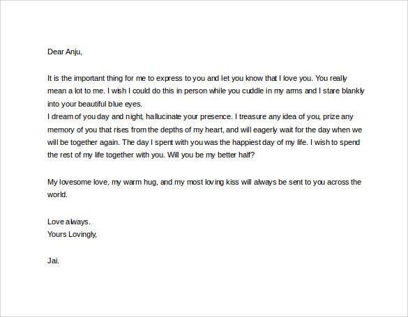 sample proposal letter