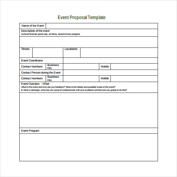search results for event proposal template calendar 2015. Black Bedroom Furniture Sets. Home Design Ideas
