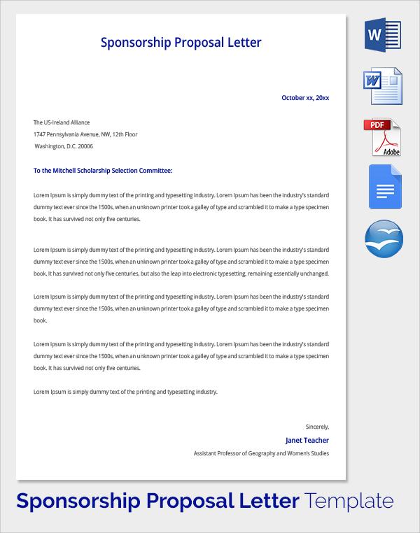 Sponsorship-Proposal-Template-PDF Team Sponsorship Letter Template on sponsorship thank you wording, sponsorship form, sample letters template, sample contract agreement template, sponsorship letter logo, sponsorship cover letter, sponsorship thank you letter, resume template, sponsorship letter calendar, sponsorship proposal letter, sponsorship request letter,