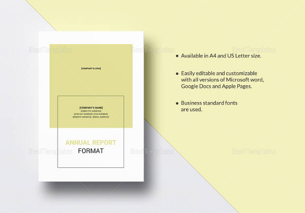 19 annual report templates to download word pdf apple pages