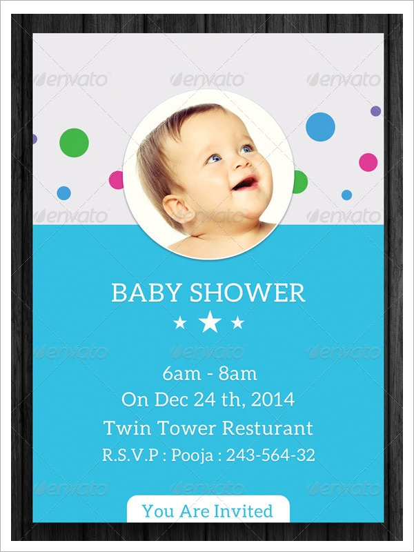 Baby Shower Invitation Templates-Download