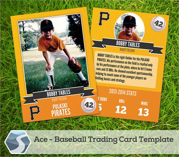 7 Sample Trading Card Templates