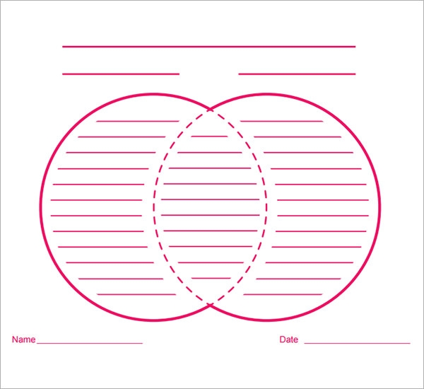 13 sample venn diagrams sample templates blank venn diagram template ccuart Images