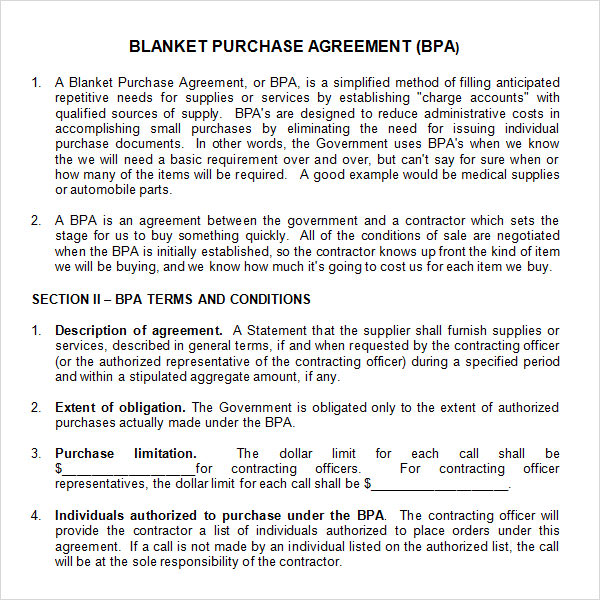 business purchase agreement template .
