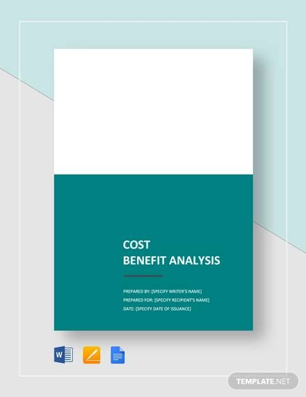 cost benefit analysis template2
