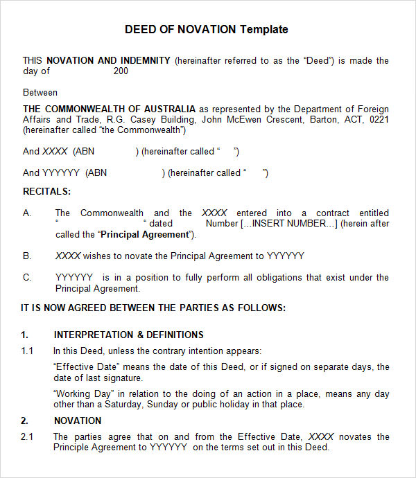 Image Result For Legal Document Templates