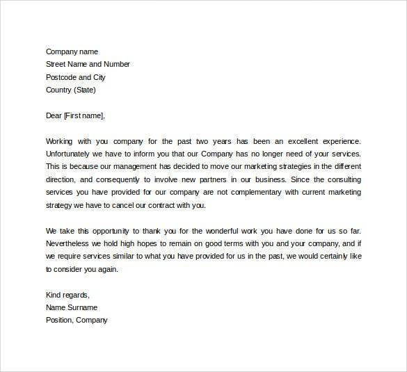 formal business letter sample format