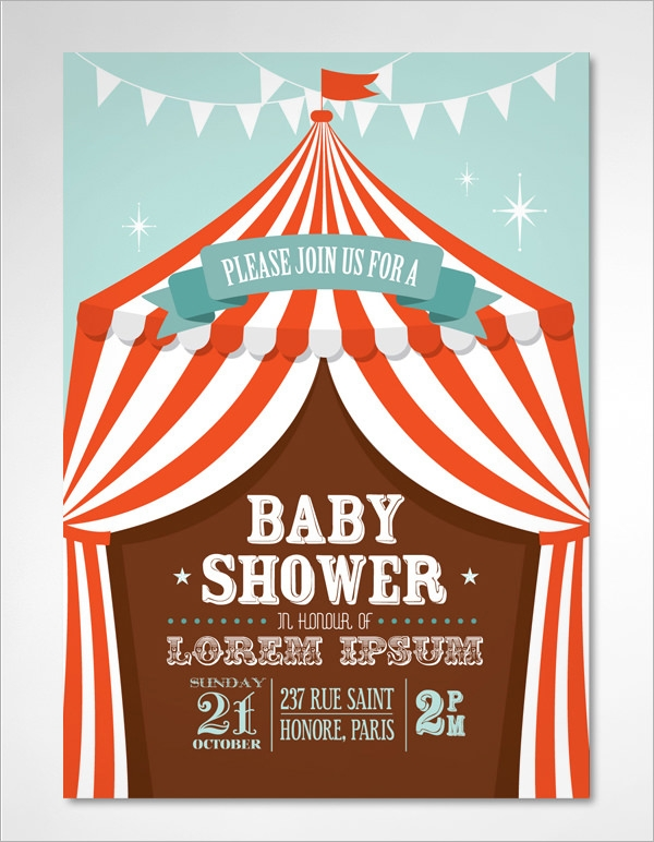 baby shower invitation template 19 download in vector psd
