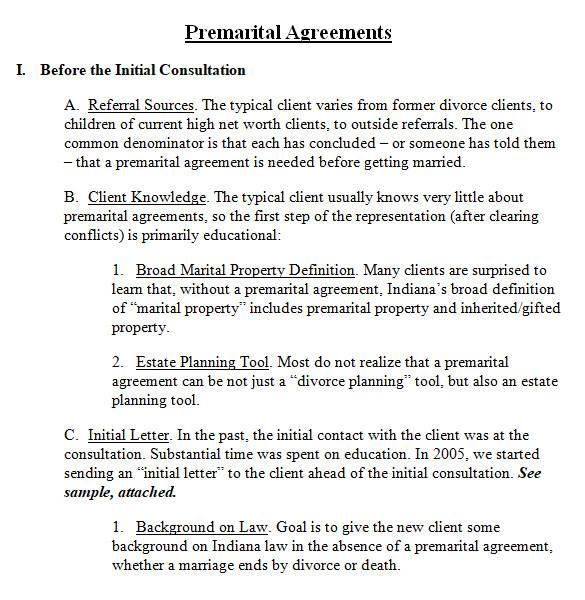 general prenuptial agreement in ms word