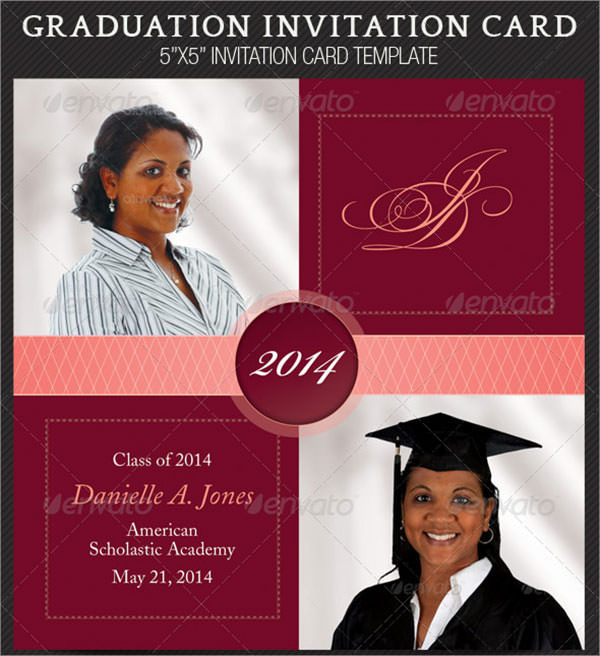 7 graduation invitation templates. Black Bedroom Furniture Sets. Home Design Ideas