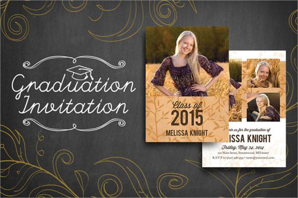 graduation invitation luxe