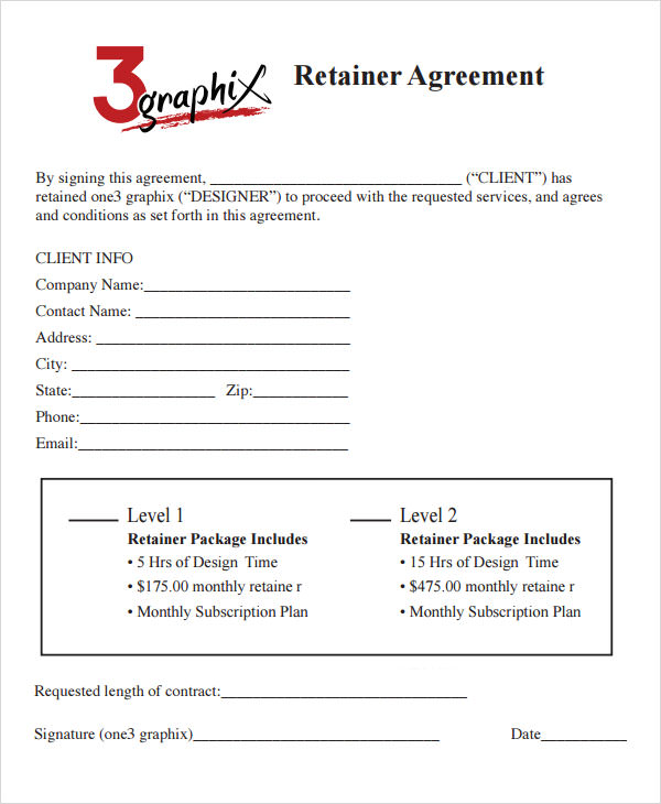 retainer consulting agreement