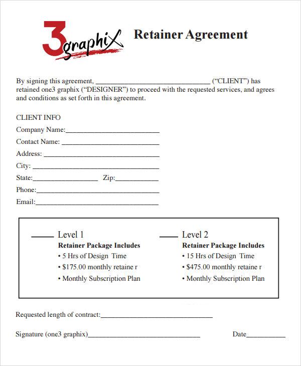 retainer consulting agreement
