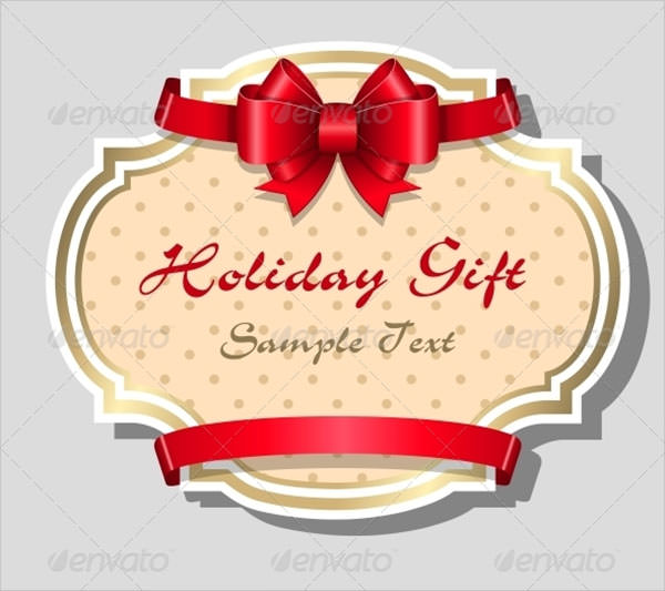 Sample Gift Card Templates