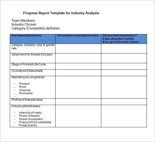Market Analysis Templates  BesikEightyCo