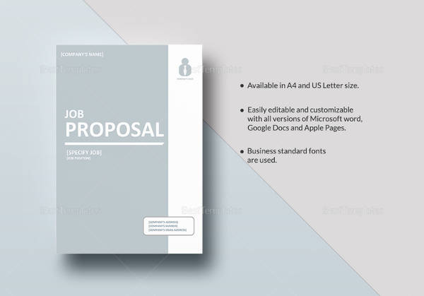 Sample job proposal template 12 free documents download pdf doc job proposal template saigontimesfo
