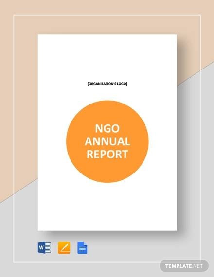 ngo annual report