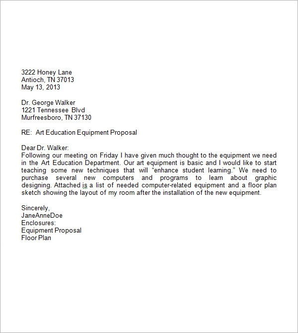 Elegant Professional Business Letter