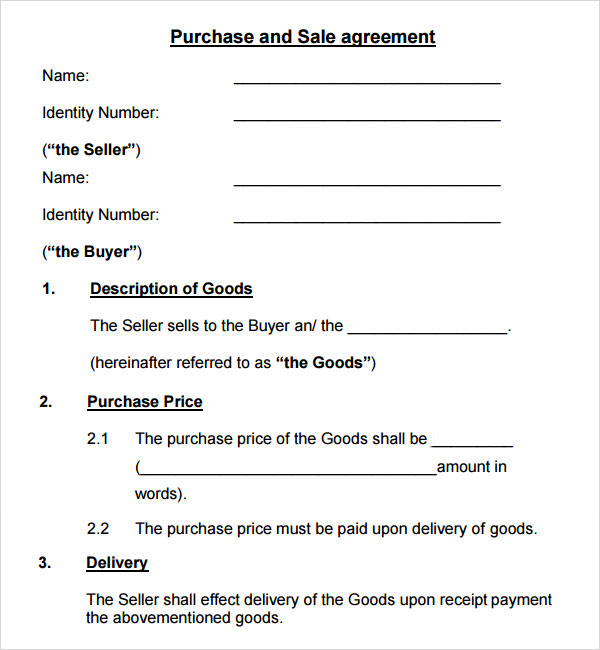 real estate sales contract template .