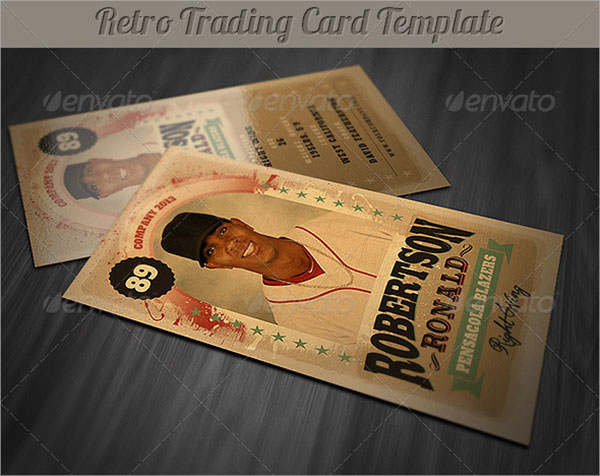 Free Trading Card Templates | 8 Sample Trading Card Templates Sample Templates