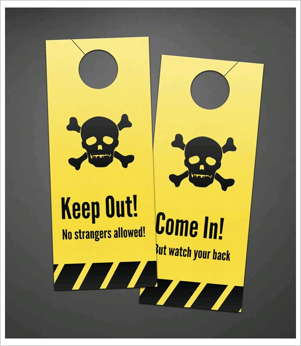 15 Door Hangers Psd Vector Eps Pdf